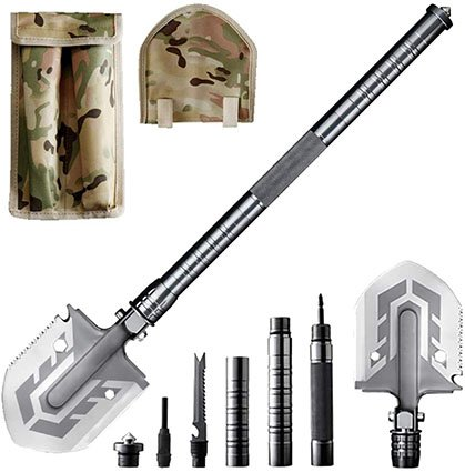 Blience Camping Tactical Survival Shovel