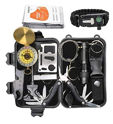 Exqline Outdoor Survival Kits 12 in 1