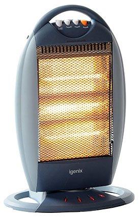 Igenix IG9514 Portable Upright 3 Bar Halogen Electric Heater