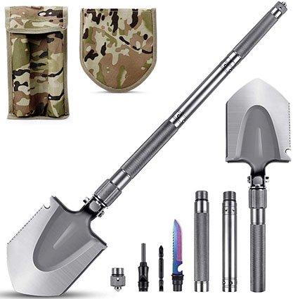 MOSFiATA Military Camping Shovel