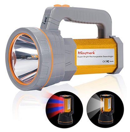 Maythank Heavy Duty Handheld Rechargeable Torch