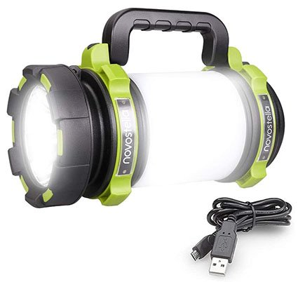 Novostella 1000lm Cree LED Rechargeable Torch