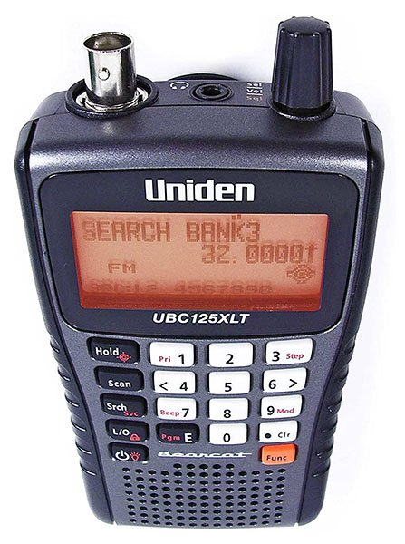 Uniden Ubc-125XLT