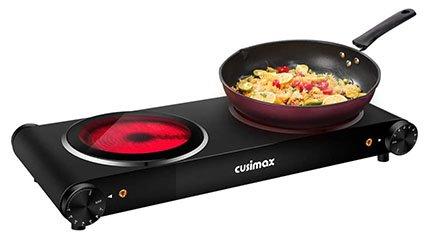 Cusimax 2400W Portable Ceramic Hot Plate
