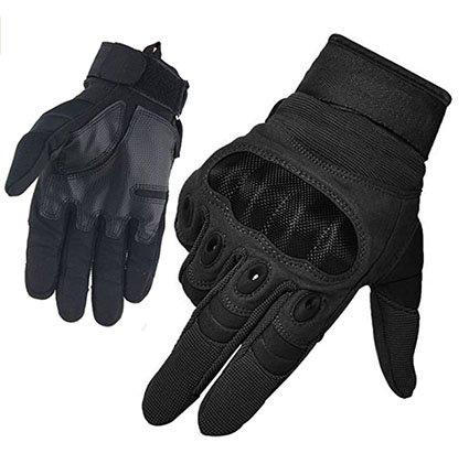 HASAGEI Men's Full Finger Outdoor Sports Working Gloves