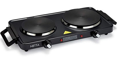 Netta Portable Double Hot Plate