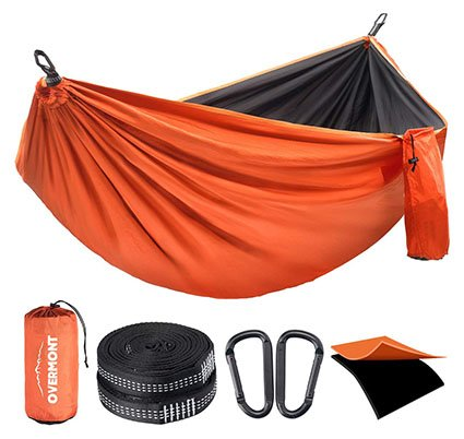Overmont Double Layers Camping Hammock