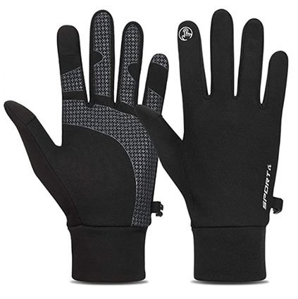 TOLEMI Winter Gloves with Thermal Liner for Men & Women