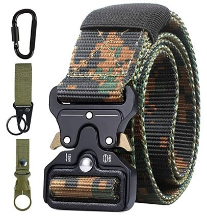 AivaToba Men Tactical Belt