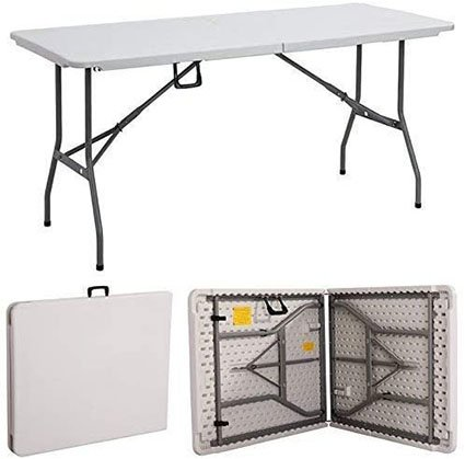 Gr8 Garden New Compact Foldable 6ft Party Table