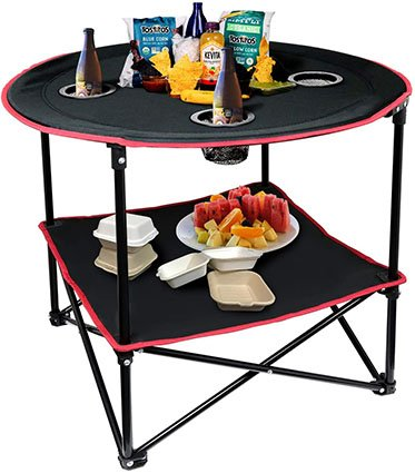 Hangou Camping Table with Carry Bag