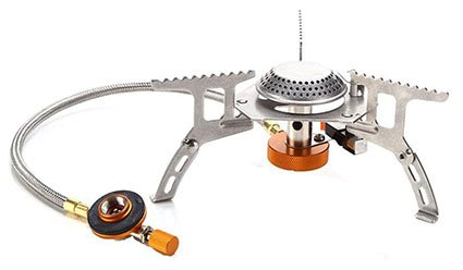 Outry 3500W Foldable Camping Gas Stove with Piezo Ignition