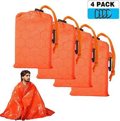 Shayson Emergency Mylar Survival Blanket Set