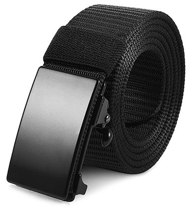 Vbiger Unisex Belt With Automatic Buckle