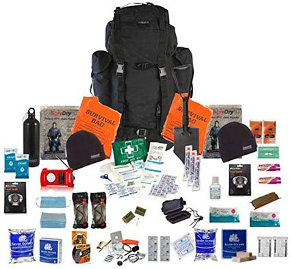 AMH Two Person Emergency Survival Kit Bug Out Bag