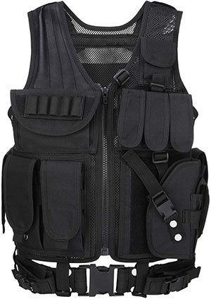 Barbarians Tactical Airsoft MOLLE Vest