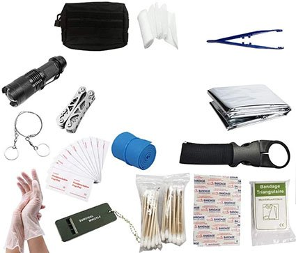 Emergency Bag Case First Aid Kit Emergency Survival Tools Kit