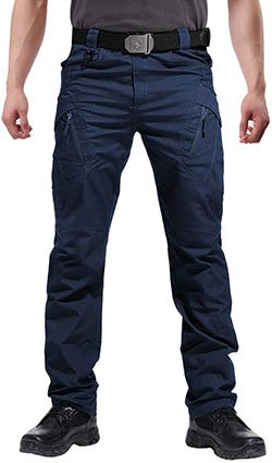 FEDTOSING Men's Outdoor Cargo Work Trousers