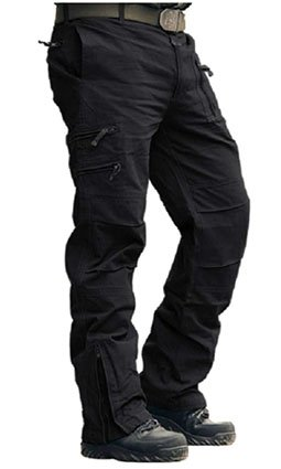 MAGCOMSEN Men's Cargo Work Trousers Cotton Pants