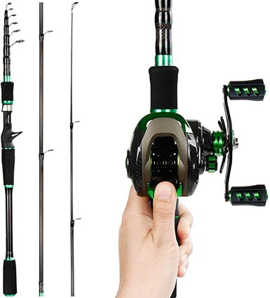 REAWOW Baitcasting Fishing Rod