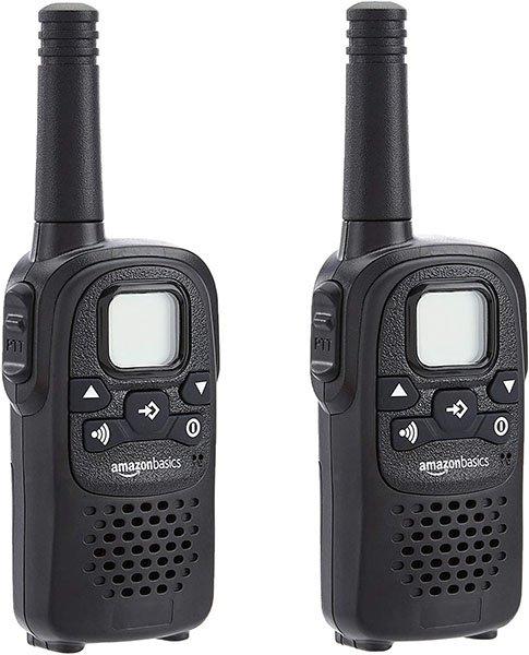 AmazonBasics 2 Way Radio Walkie Talkies