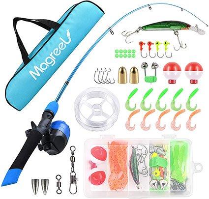 Magreel Kids Telescopic Portable Fishing Rod