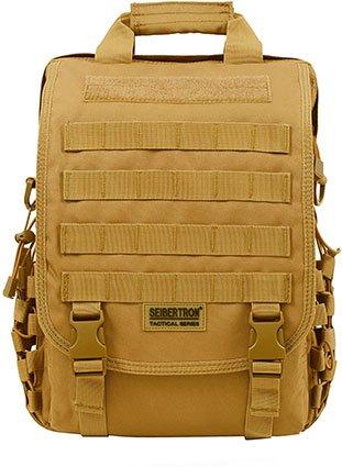 "Seibertron Waterproof Molle Tactical 14"" Laptop Backpack"