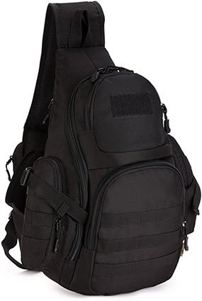 Selighting Military Tactical Chest Sling Backpack