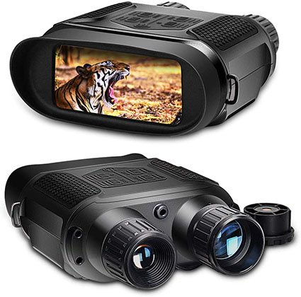 Solomark Night Vision Binoculars for 100% Darkness